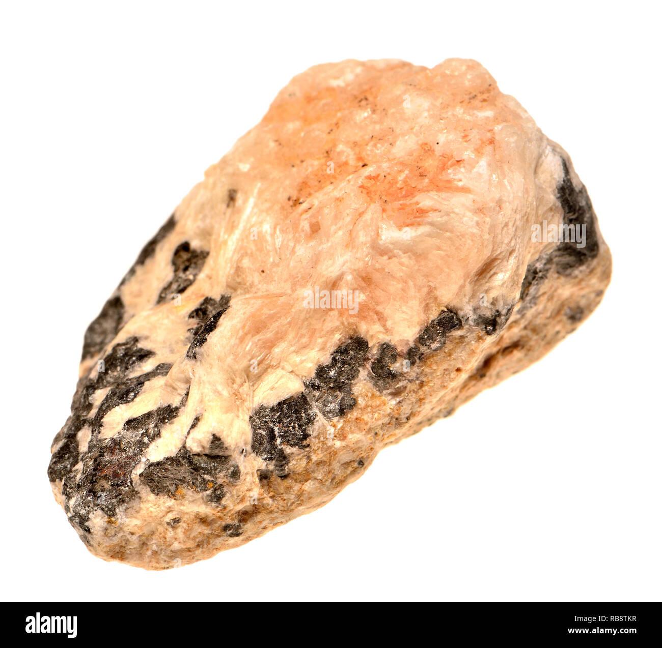 Galena (sulfuro de plomo) principales mineral de plomo Imagen De Stock