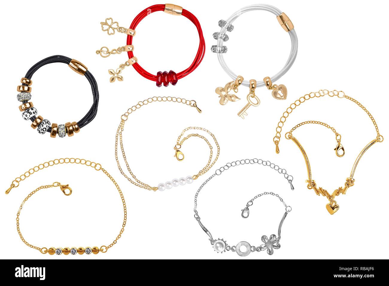 5a1cff4b376a Joyas De Oro Y Piedras Preciosas Imágenes De Stock   Joyas De Oro Y ...