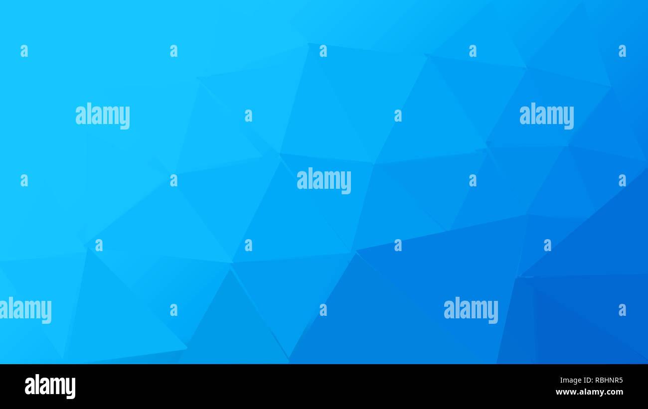 Luz azul abstracto vector plantilla poligonal. Ilustración colorida en un estilo abstracto con un degradado. Imagen De Stock