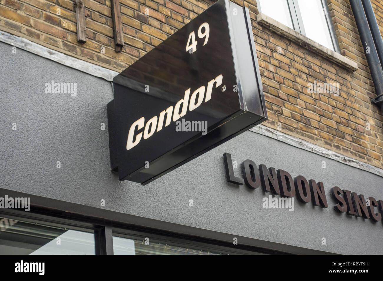 Condor bicicletas tienda en Londres, Reino Unido Imagen De Stock