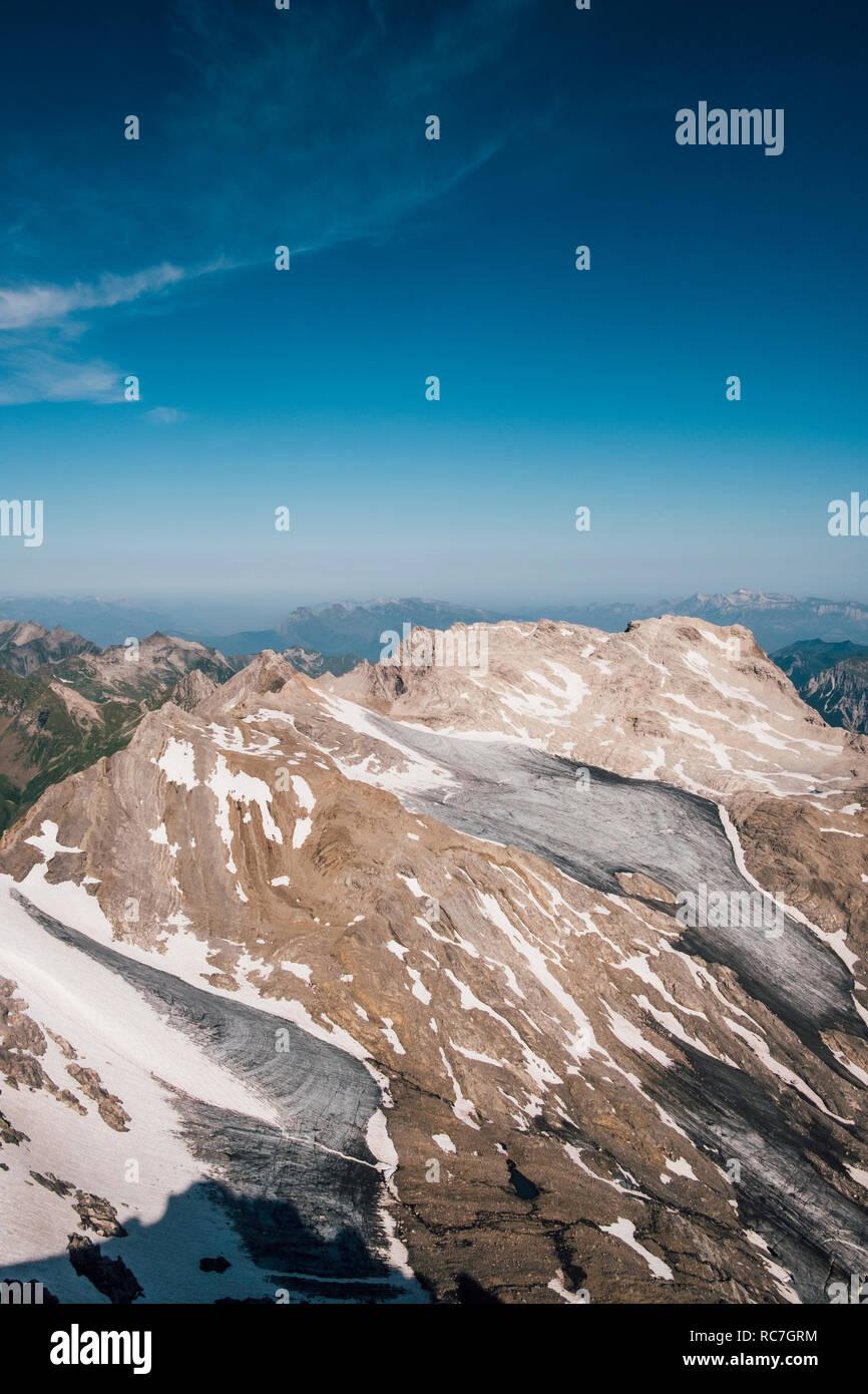Mountainscape, Marca, Vorarlberg, Austria Foto de stock