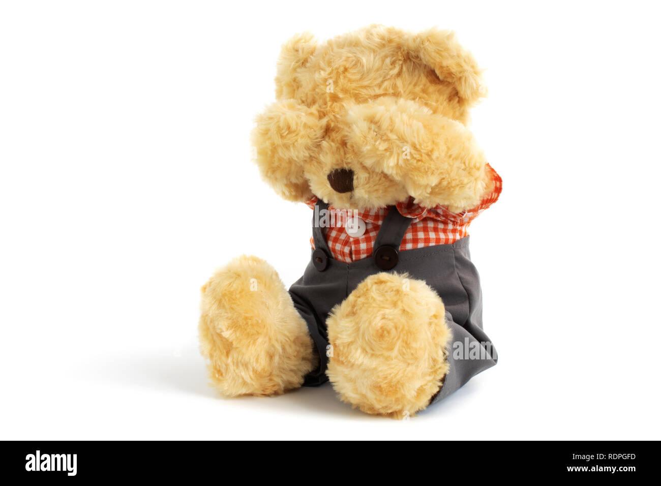 Crying Teddy Bear Imágenes De Stock Crying Teddy Bear Fotos De