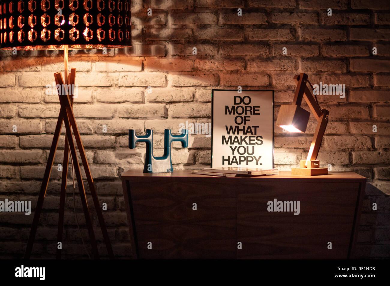 Interieur shot Foto de stock