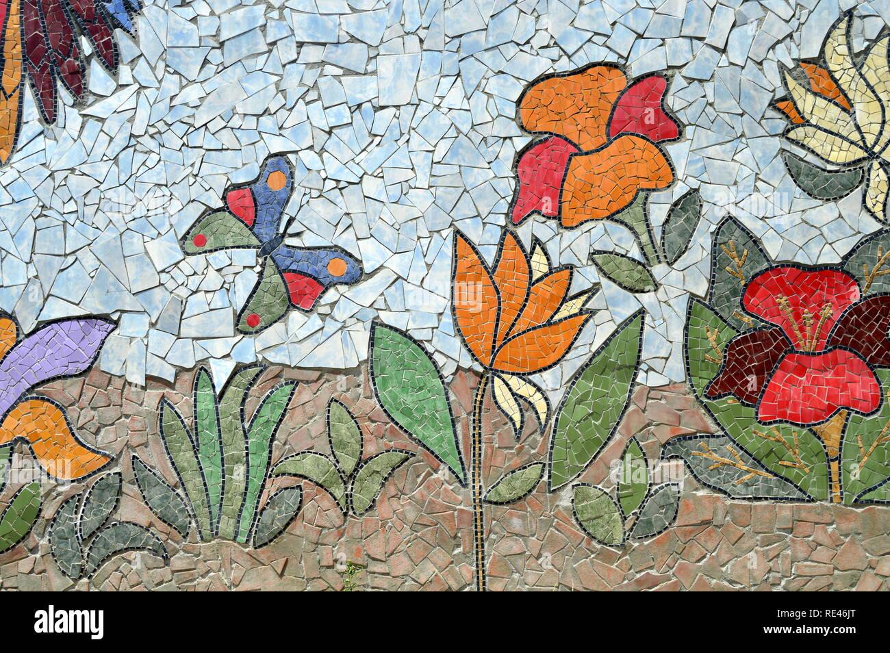 Butterflies Mosaic Imágenes De Stock Butterflies Mosaic Fotos De