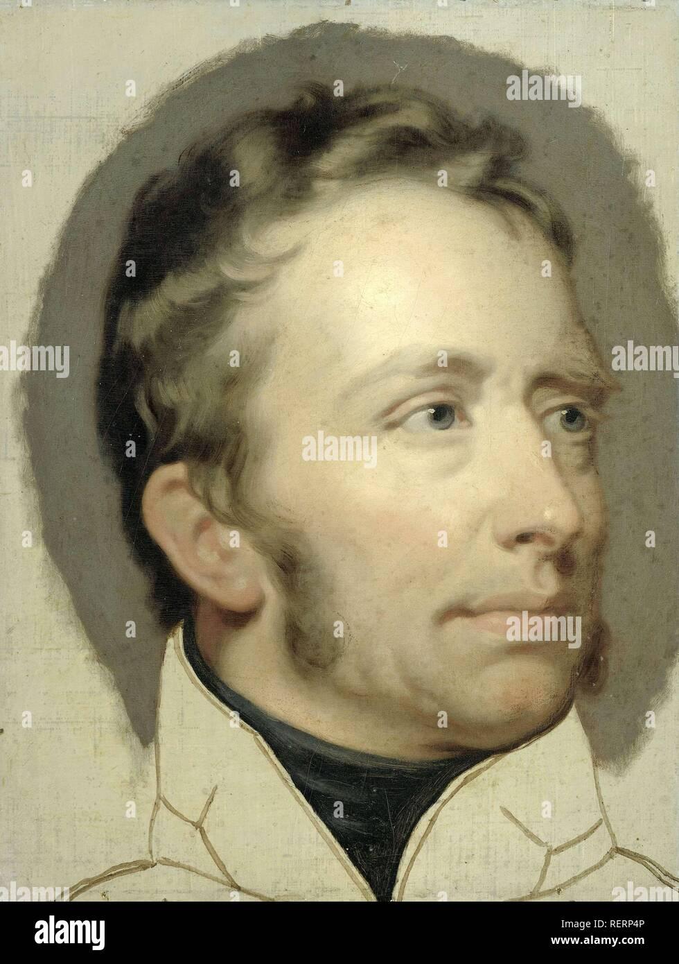 Willem I (1772-1843), Rey de los Países Bajos. Datación: 1815 - 1816. Mediciones: h 34,5 cm × w 26 cm. Museo: Rijksmuseum, Amsterdam. Autor: Charles Howard Hodges. Hodges, Charles Howard. Imagen De Stock