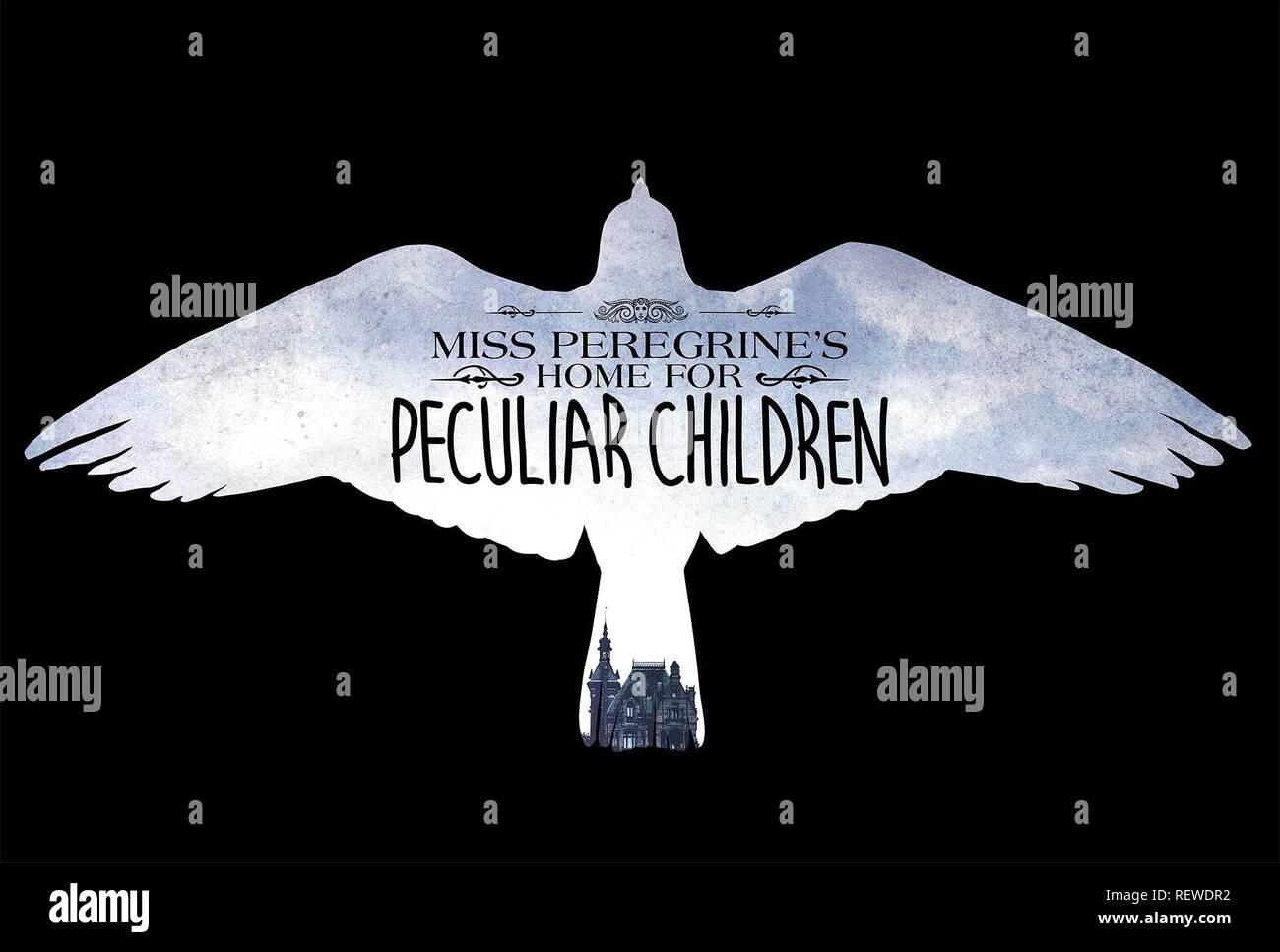 Póster de la película la casa de miss PEREGRINE PARA NIÑOS peculiares (2016) Imagen De Stock