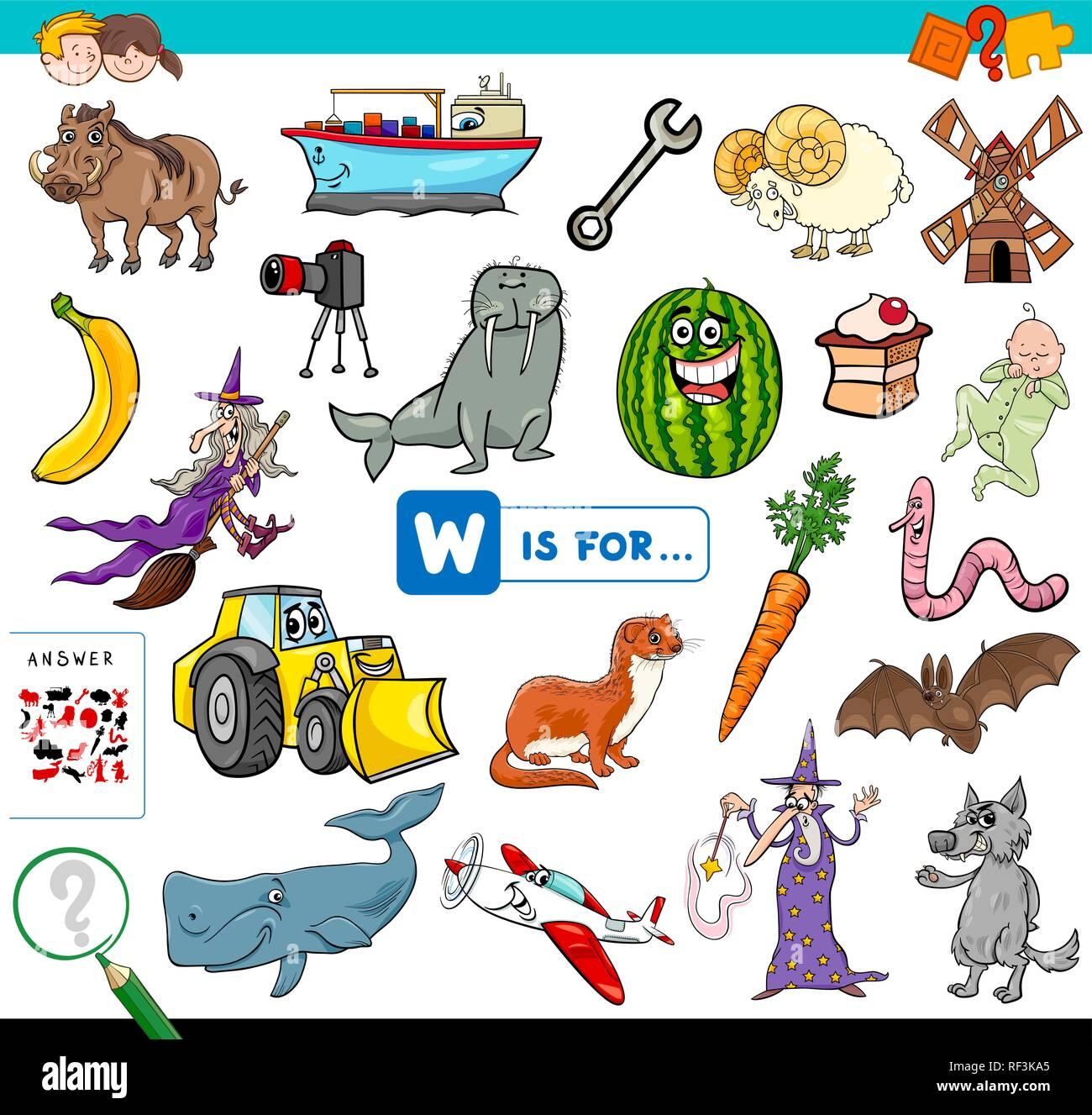 Preschool Alphabet Workbook Imágenes De Stock Preschool Alphabet