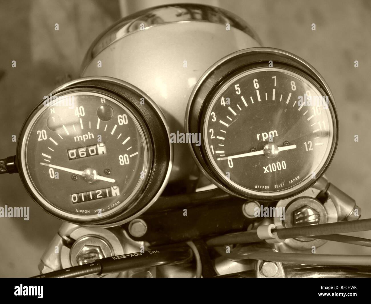 Honda 125 Relojes Foto Imagen De Stock 233100383 Alamy