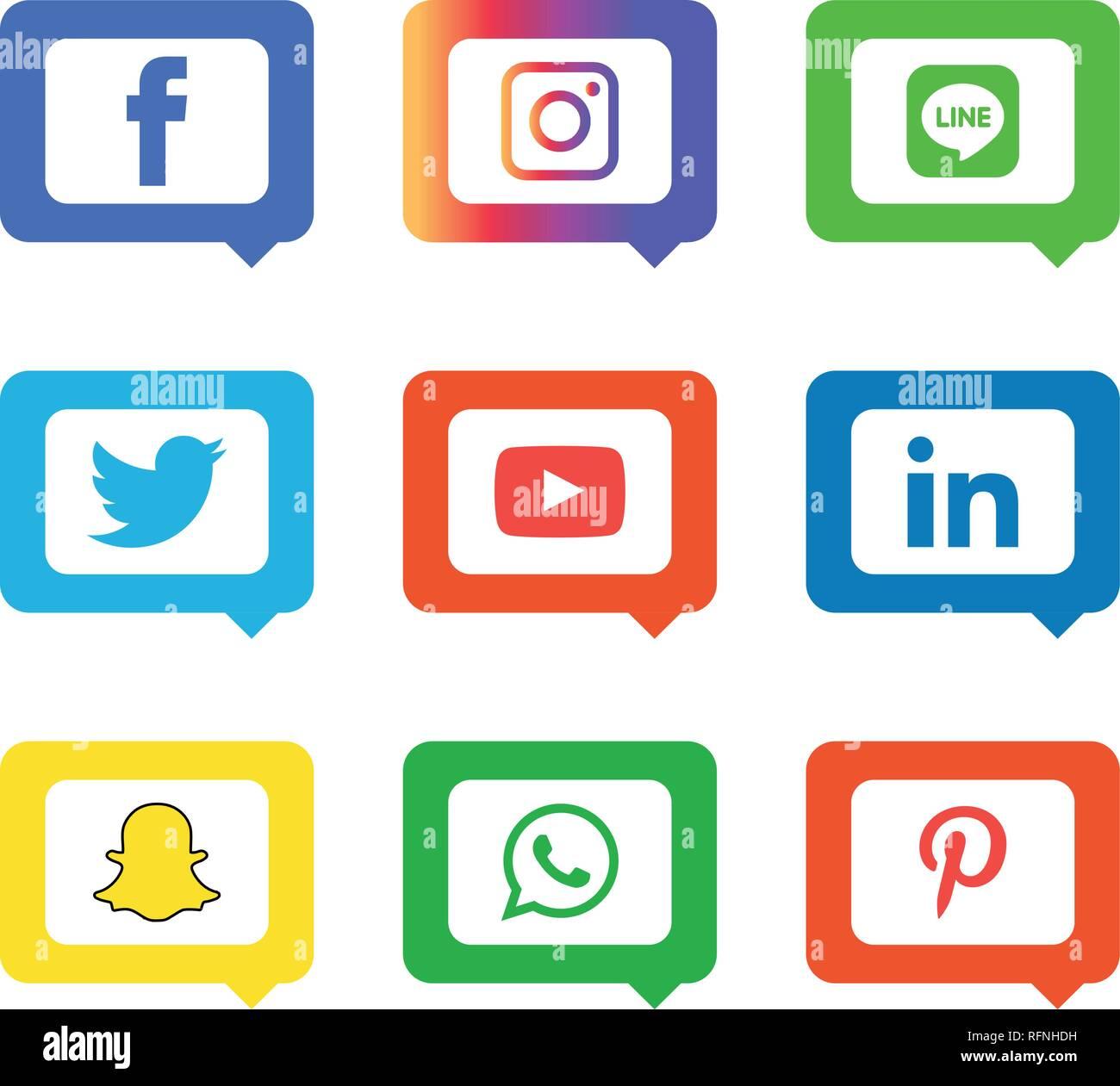 Vectores De Icono De Pinterest Vectores Imágenes De Stock Vectores