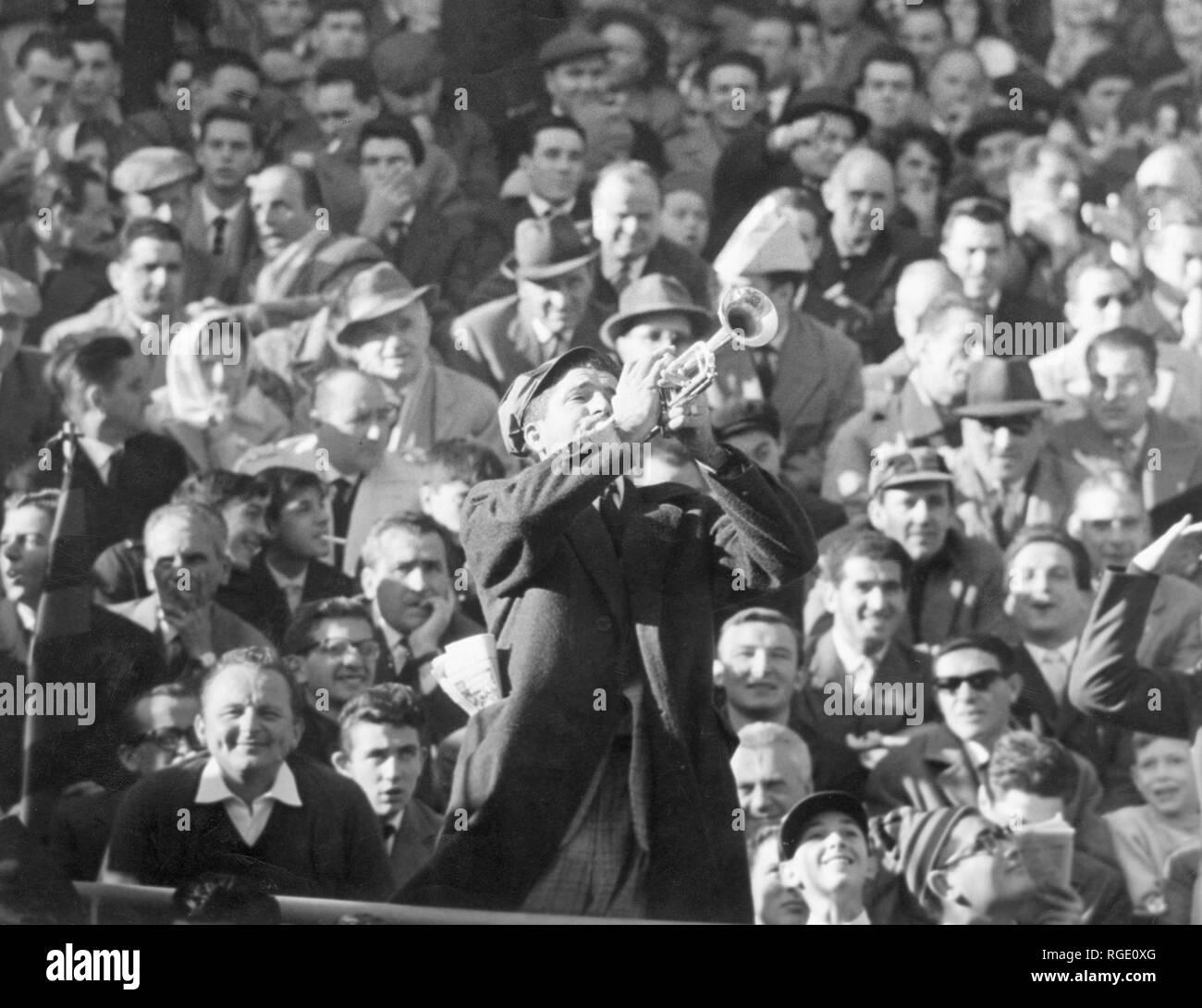 El campeonato de fútbol, inter de milán, 1960 Imagen De Stock