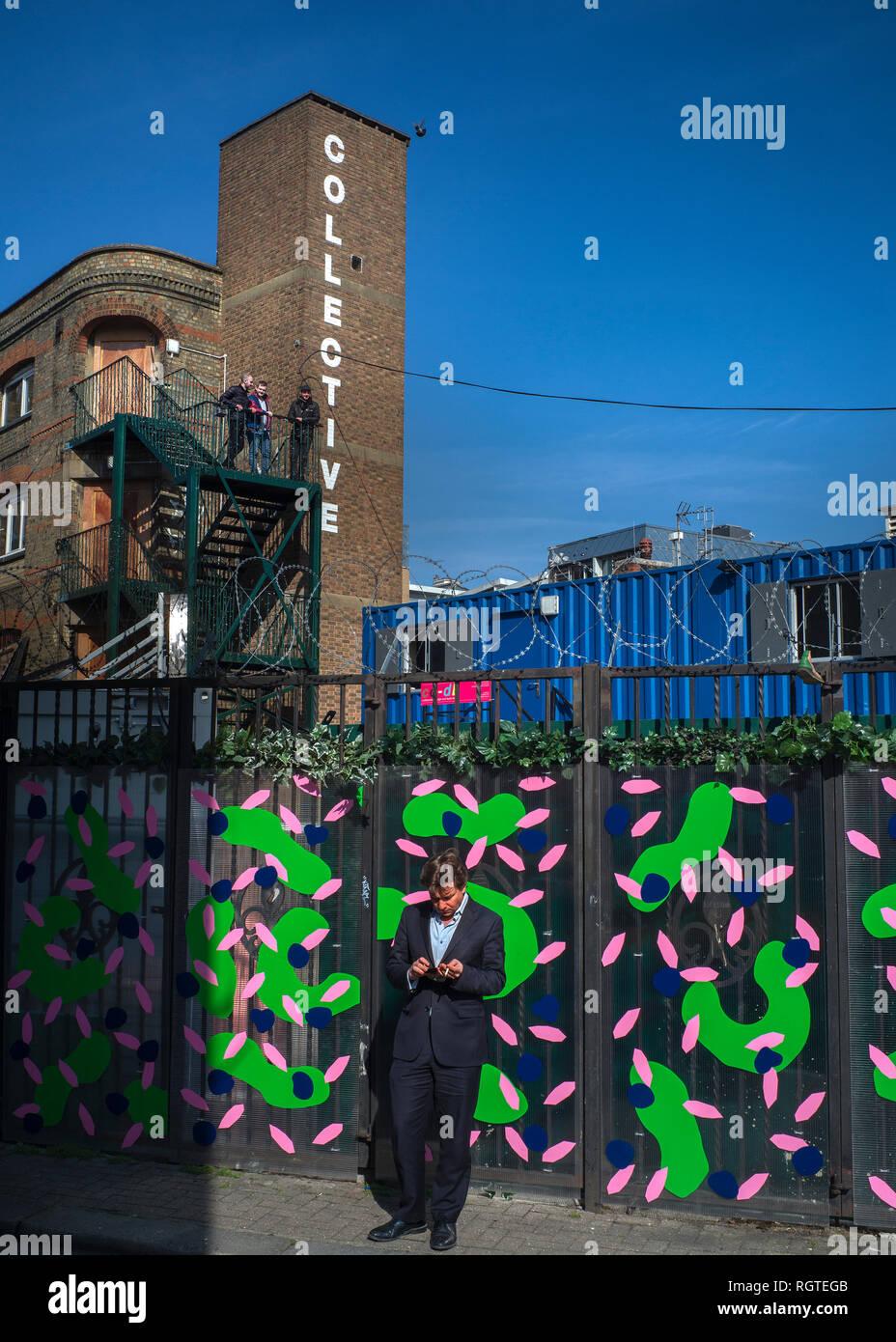 Colectivo de Camden ,Camden town Imagen De Stock
