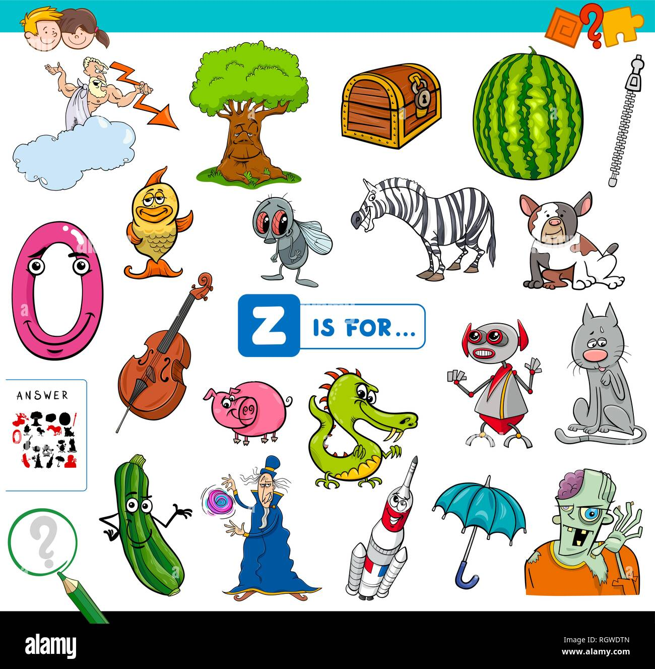 Z Illustration Education Imágenes De Stock Z Illustration
