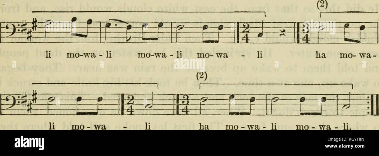 Boletín Etnología Densmore Voz J 88 1 Música Papago Nº