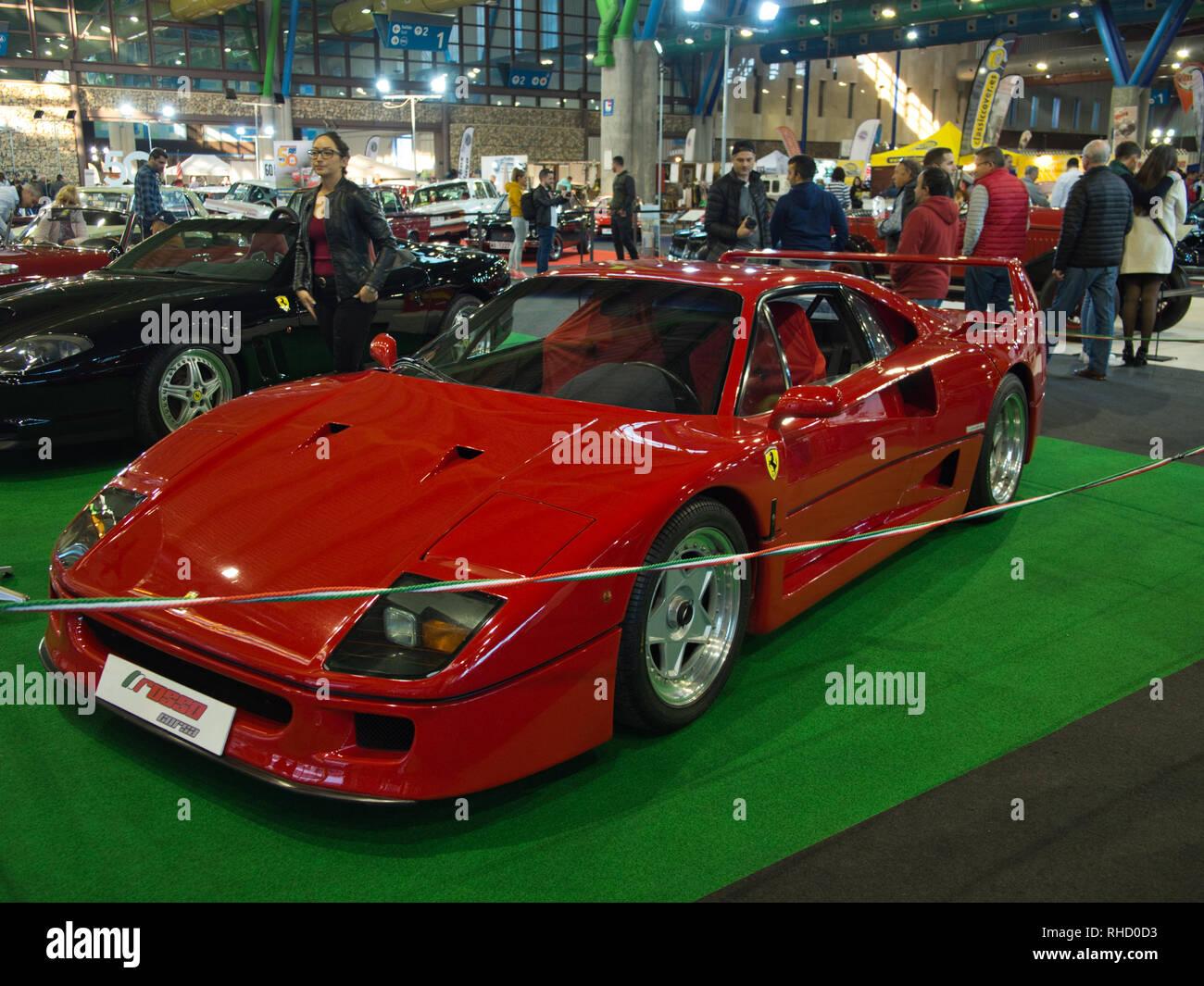 Ferrari F40. Retro Málaga 2019 Imagen De Stock