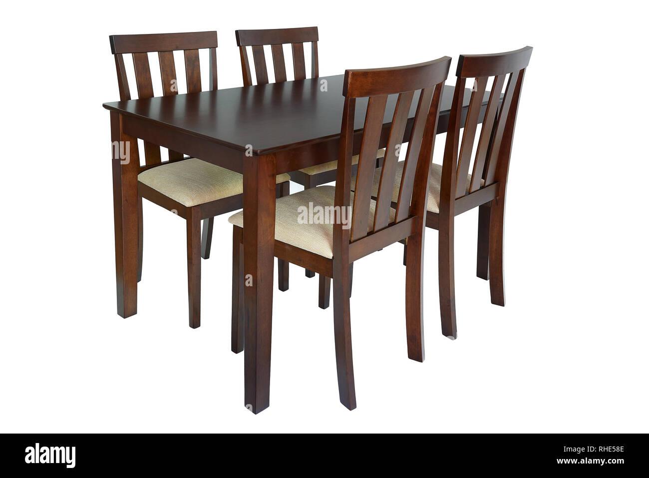Muebles de comedor Conjunto mesa y cuatro sillas. Cenas ...
