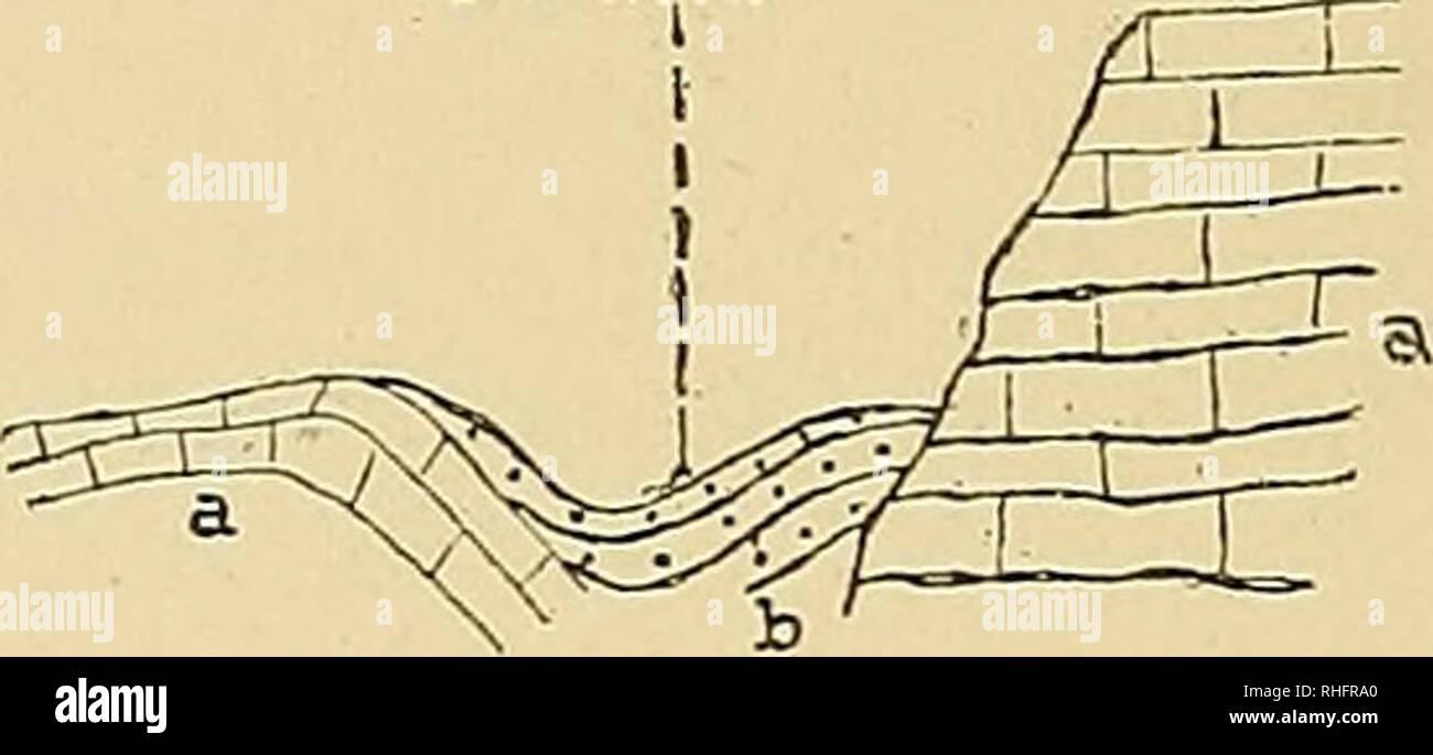 . Boletín del Instituto Geológico de México. Geología; Geología, Paleontología. 66 geología de Chiapas y Tabasco. Terciario, que es aquí siempre marino, ocupa casi todo el Norte; se encuen- tra plegado ú ondulado, á veces en pliegues angostos y á veces en anticli- nales y sinclinales amplias; fracturas hijo relativamente raras. Hemos reconocido en el Oeste sólo la indicación de un levantamiento en forma de un inmenso y bajo anticlinal (véase el corte Pichucalco-San Bartolomé Solis-, el corte Jolnocpá tahuacán-Santiago), más hacia el este, vemos en el ex- tremo septentrional y anticlinales sincl ONU ONU Imagen De Stock