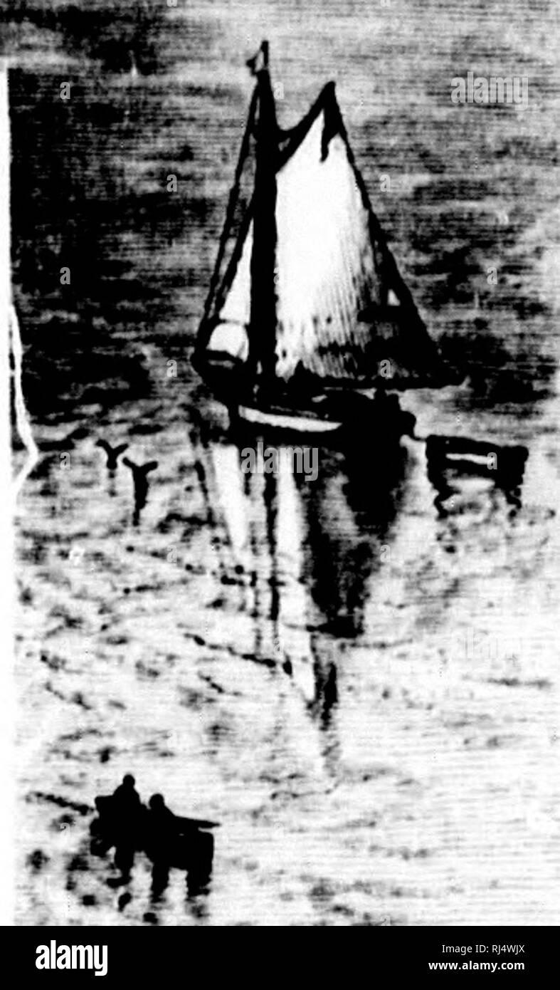 """. Deporte con pistola y varilla en maderas americanas y aguas [microforma]. La caza, caza, pesca; Pesca;;; Pêche Chasse Chasse sportive; Pêche sportive. i.l.M.RAI. VIl.W IKliM mill ISI ASh IriMicli posesiones, y fue finalmente capturado diirinir la guerra de 1S12 l)y una parte de los Estadounidenses bajo el mando de uno [lul)l)ard, un e- """"ievolutionary soldado, quien encontró esta vez hir!L,fe y fortaleza importante bajo el mando inmediato de dos wonK.Mi y tres inválidos; , â¢: juimht un lchal)od de fortalezas, su ^lory había tleparted. Las mujeres y los inválidos valorously fueron atacados, y un ligero aftir r Foto de stock"""