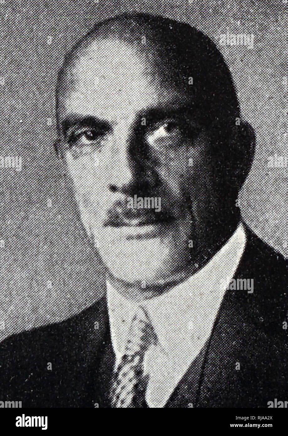 Z D Pauli, oficial Alemana de Deportes Olímpicos 1936 Juegos Nazi en Berlín. Imagen De Stock