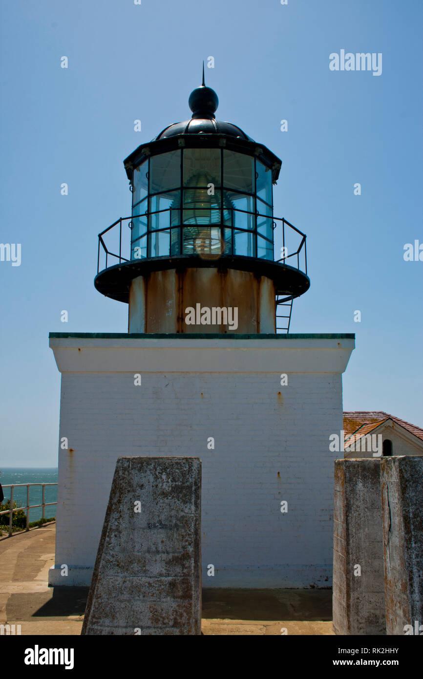Faro de Punta Bonita, San Francisco Imagen De Stock
