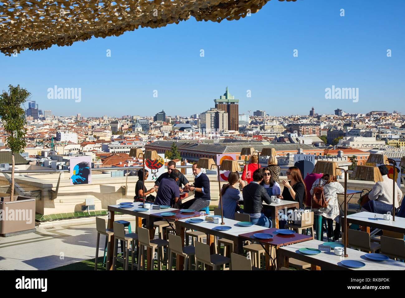 Terraza Círculo De Bellas Artes Madrid España Foto