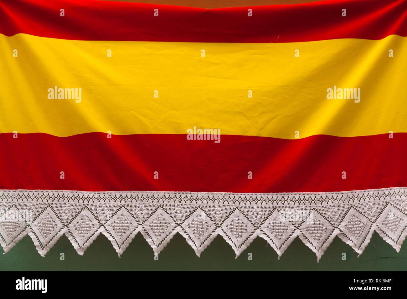 Bandera de España Imagen De Stock