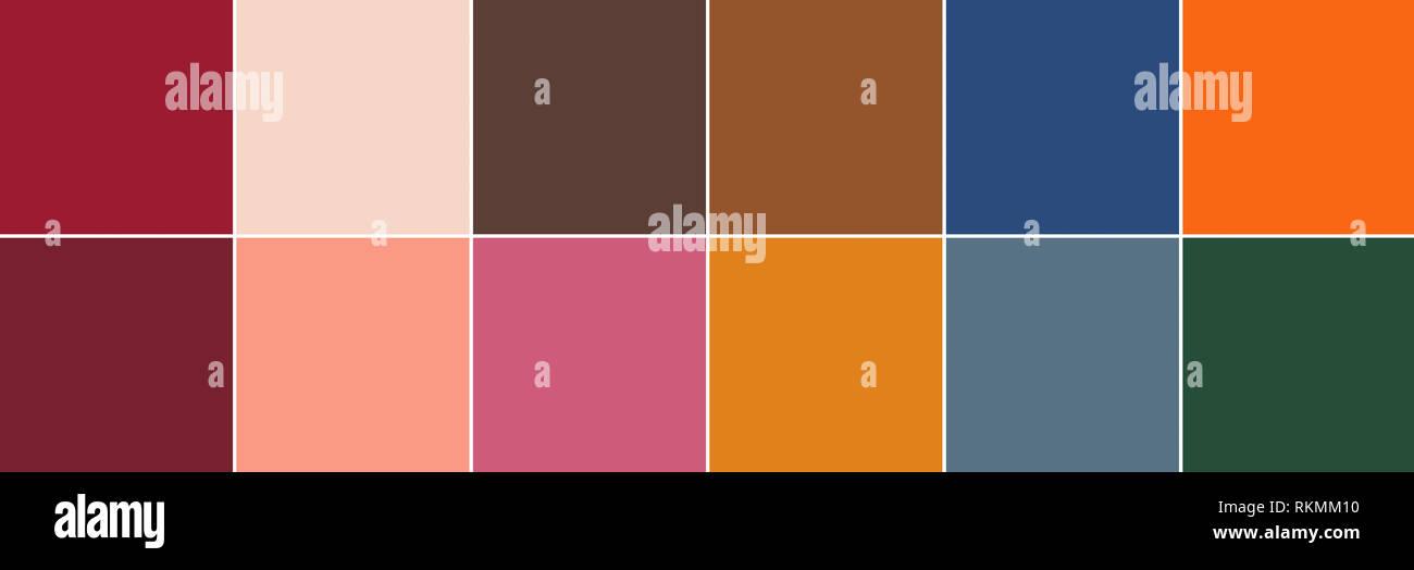 4e20938cc8e8c 12 se destacan los colores Pantone de la temporada otoño   invierno 2019    2020 paleta. La Semana de la moda de NY color Pantone Informe. Top 12  stand-outs.