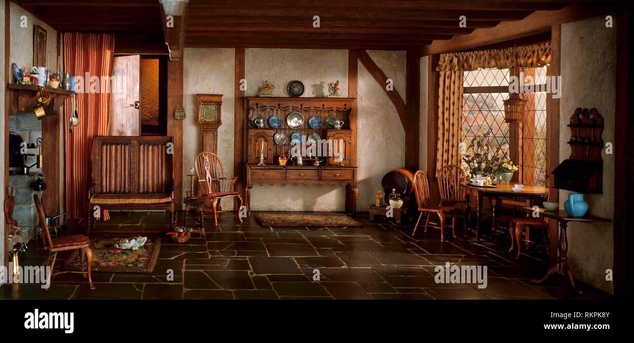 English Cottage Interior Fotos E Imagenes De Stock Alamy