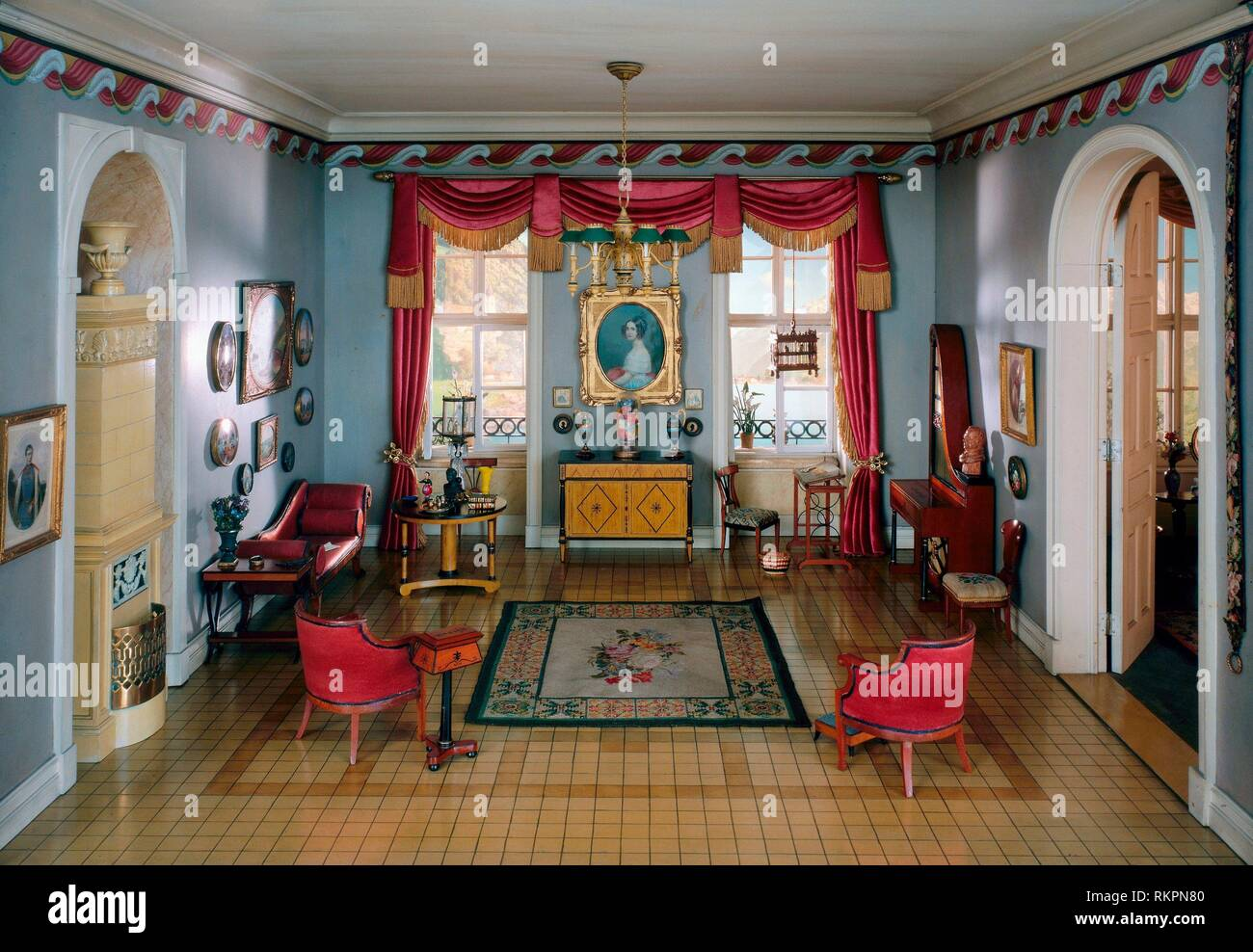 German Biedermeier Fotos e Imágenes de stock - Alamy
