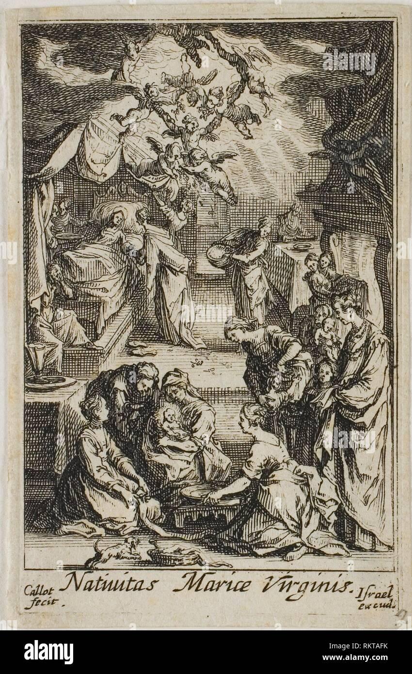El Nacimiento De La Virgen Maria De La Vida De La Virgen Jacques