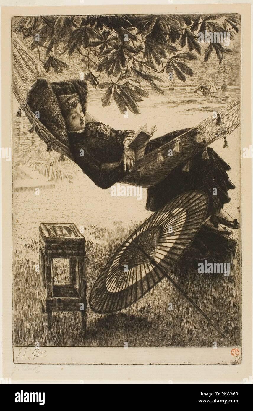 Hamaca Tissot La James Artista Francés1836 1880 1902 iXZOkuP