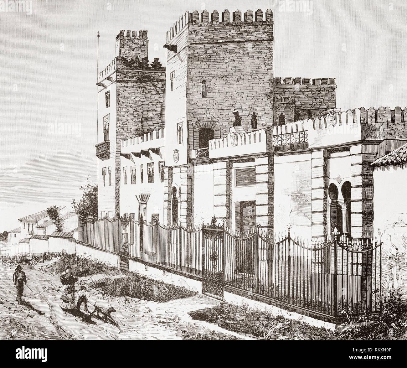 La Casa Donde Murio Hernan Cortes En Castilleja De La Cuesta