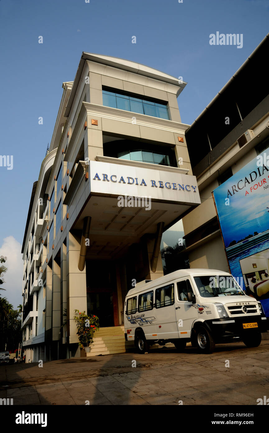 Hotel Arcadia Regency, Alappuzha, Alleppey, Kerala, India, Asia Imagen De Stock