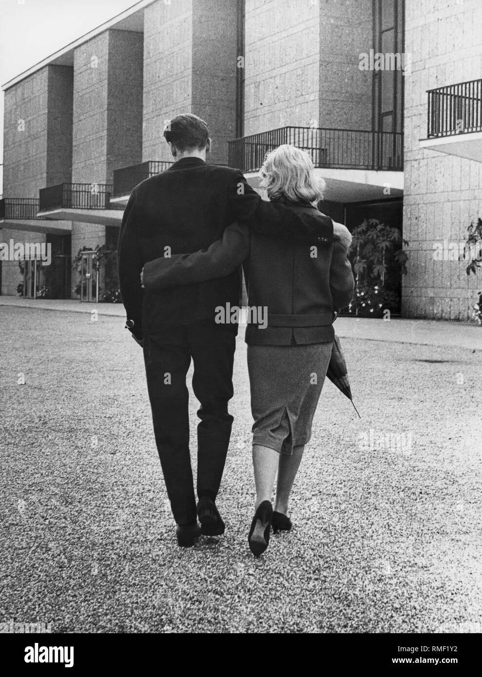 Par del brazo, 60s Imagen De Stock