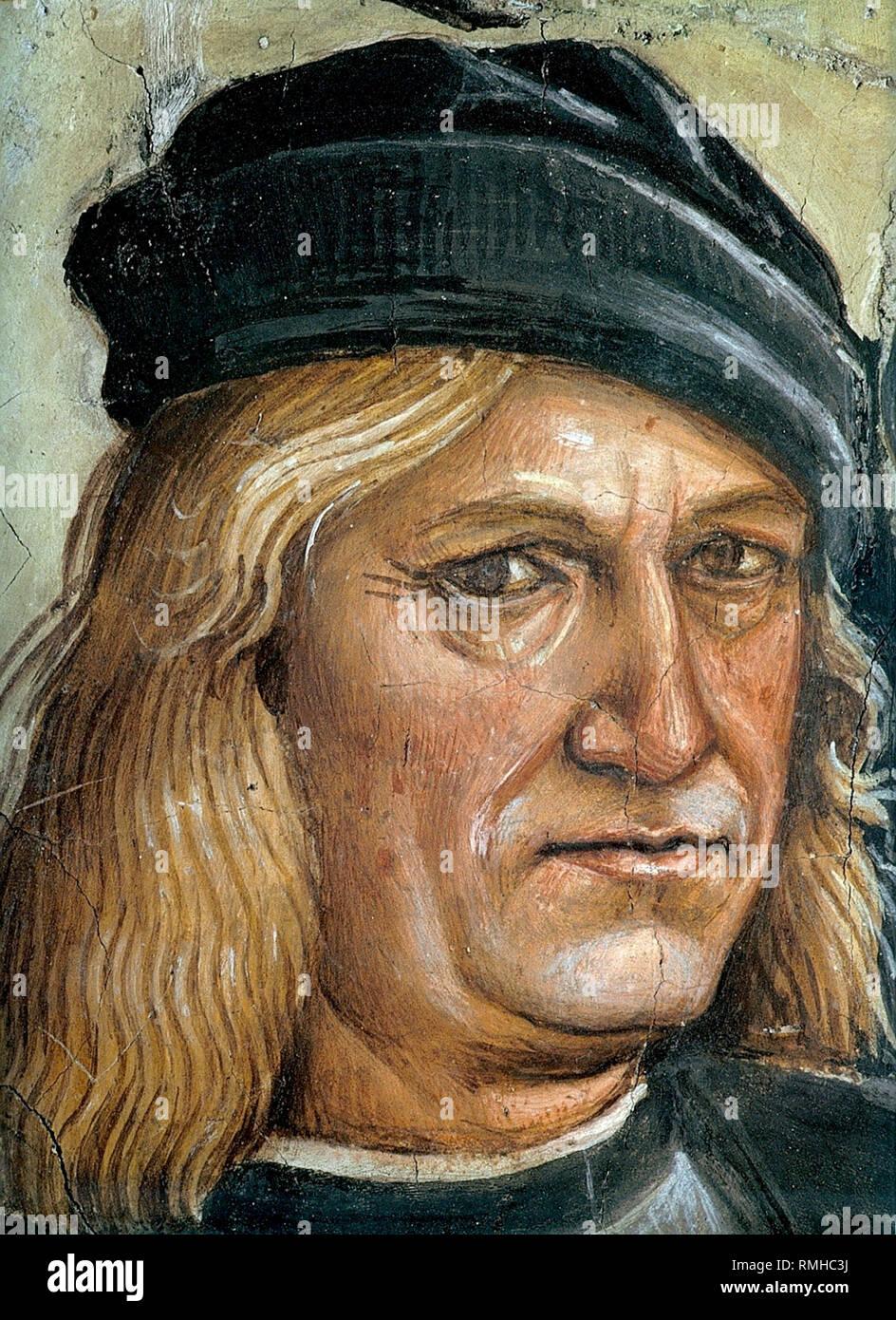 Luca Signorelli (1450 - 1523), pintor renacentista italiano Imagen De Stock