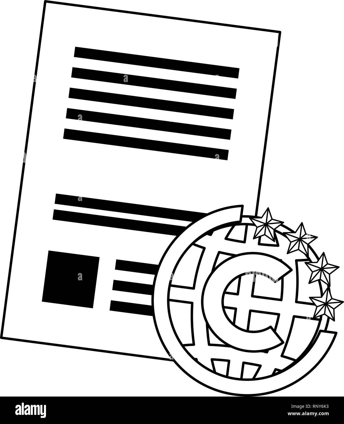 Protección de la propiedad intelectual Derechos de autor patente ilustración vectorial Ilustración del Vector