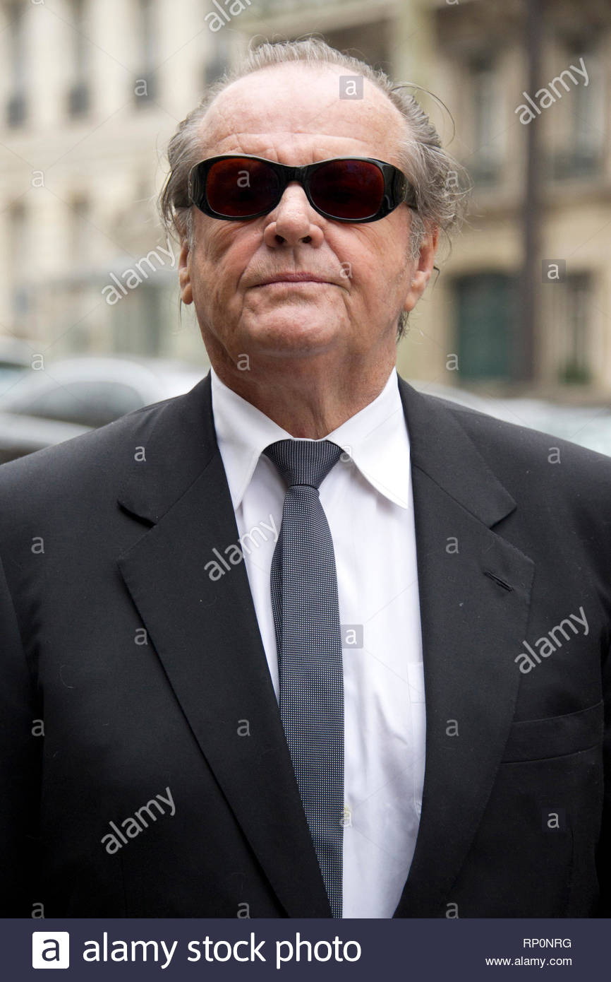Rinde Jack Nicholson Su Ee El Actor uuSolamenteParisFrancia c5A3RLq4j