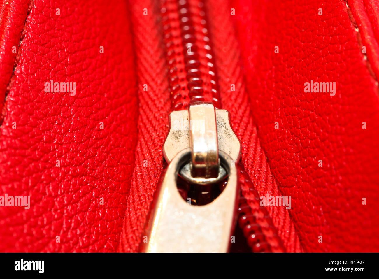 Amarillo Rosa Roja Metal Abierta Cremalleras Vestido Pantalones Abrigo Bolsa cremalleras Fijaciones