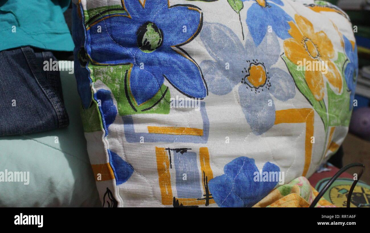 Florida Almofada em cima da cama Imagen De Stock