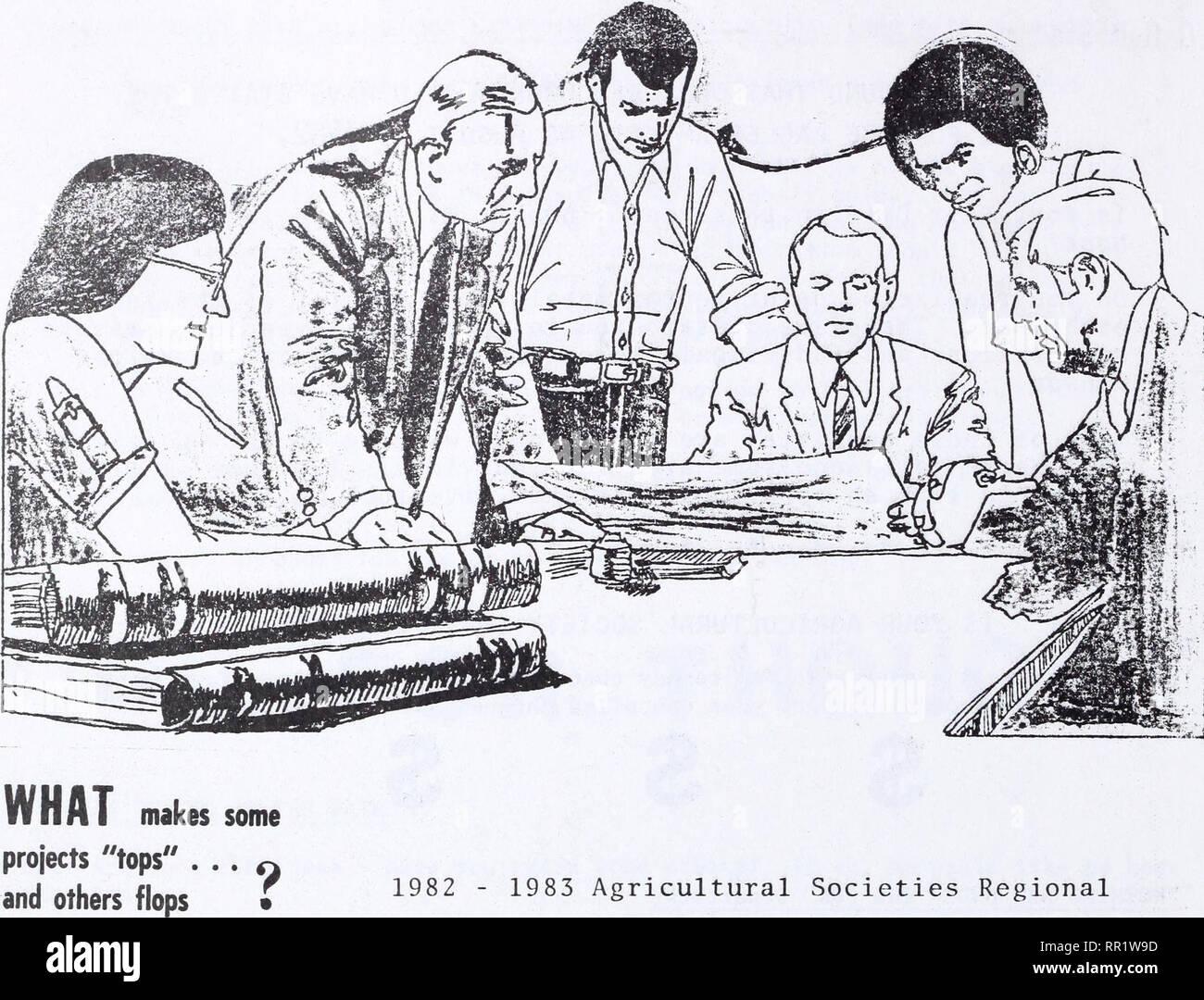 """. Las sociedades agrícolas boletín. La agricultura. Talleres ¿Cómo puede el tema hacer un programa cfick ... cuando otros fallan o marcar r este año en los Talleres Regionales es """"HACER QUE LAS COSAS SUCEDAN"""" ^® estará centrado en las técnicas para la acción ffllT es uno y vamos a pedir a la sociedad agrícola de la comunidad dele muertos . . Puertas para bajar a los detalles específicos sobre planificación y mientras otros o la aplicación de una idea. Avanzar •. Por favor tenga en cuenta que estas imágenes son extraídas de la página escaneada imágenes que podrían haber sido mejoradas digitalmente para mejorar la legibilidad, la coloración y el aspecto de estos illustrati Imagen De Stock"""