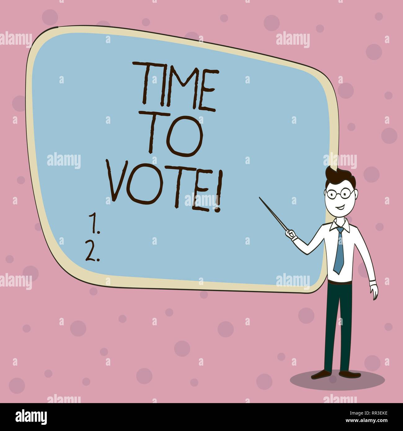 Votar significado