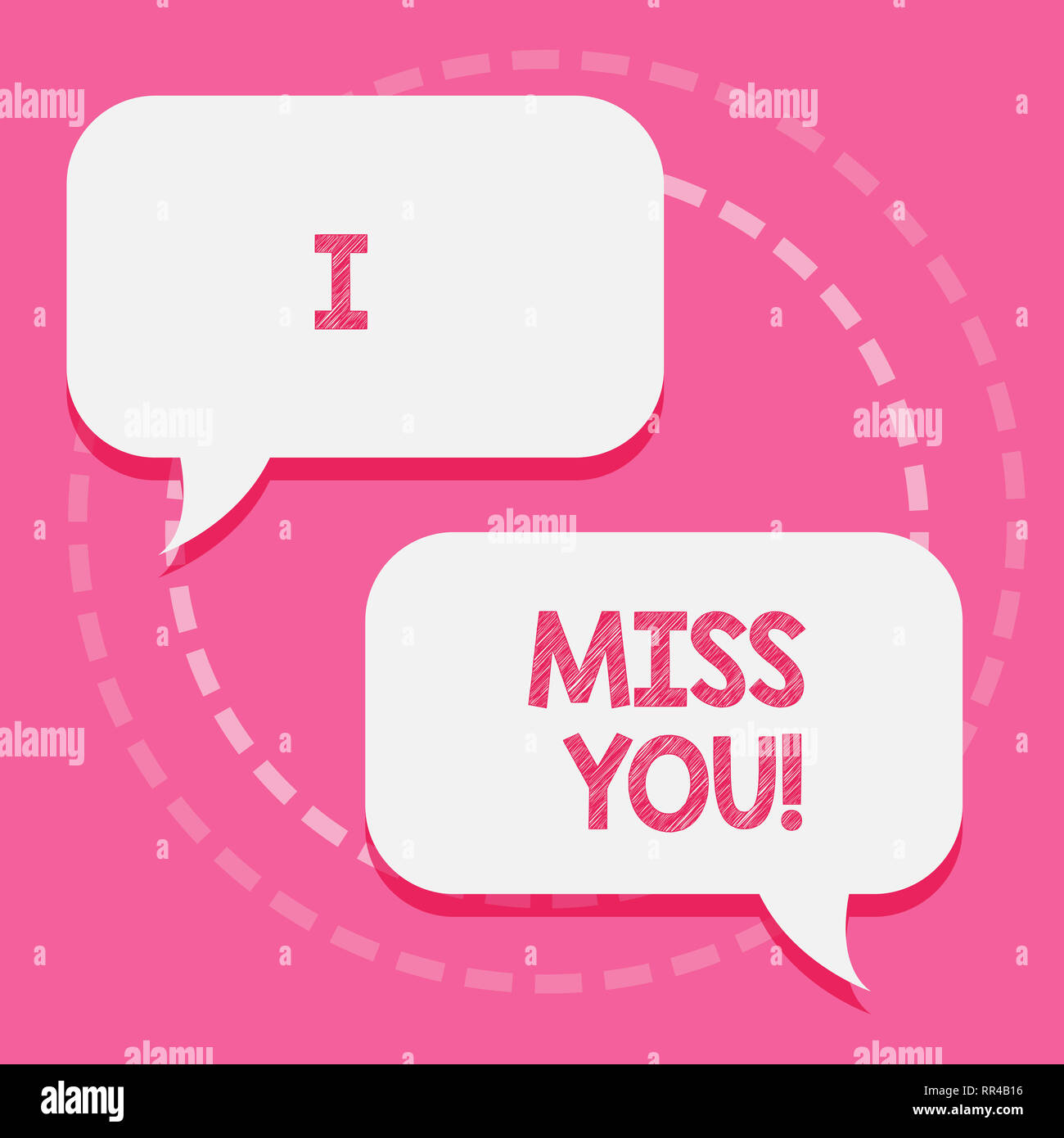 I Miss You Message Imágenes De Stock I Miss You Message