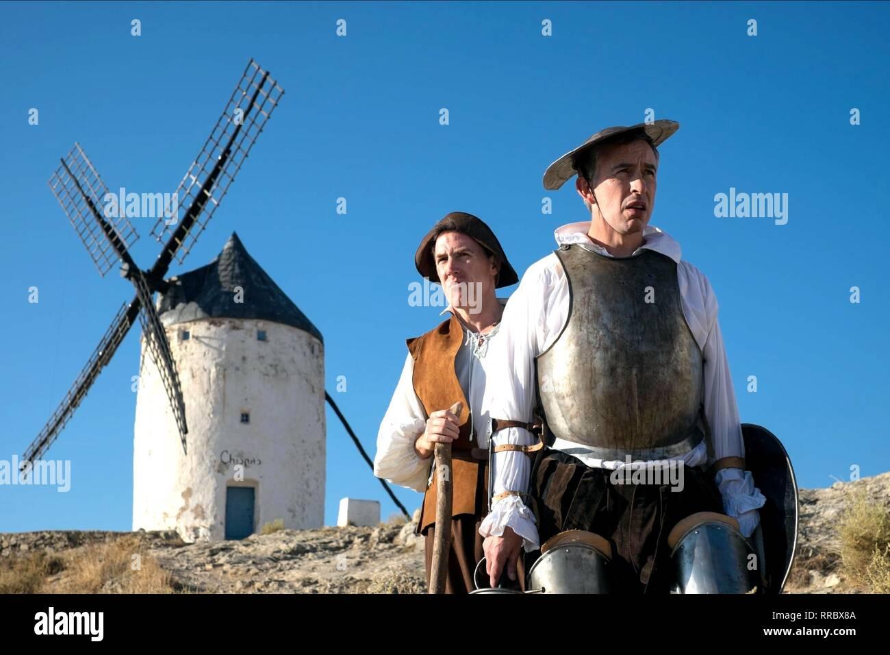 El viaje a España, Rob Brydon , Steve Coogan, 2017 Imagen De Stock