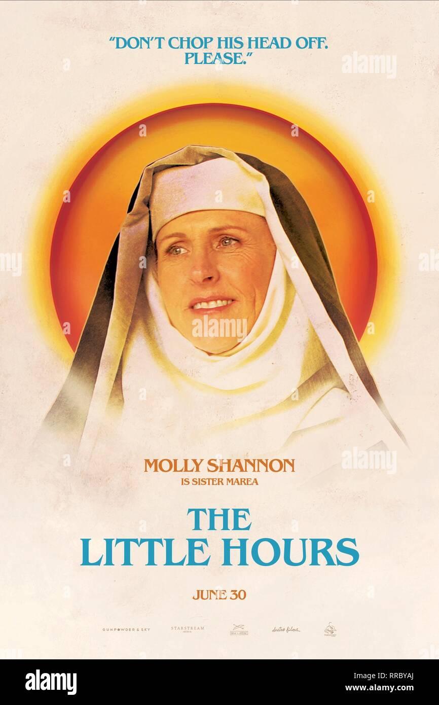 Las pocas horas, Molly Shannon póster, 2017 Foto de stock