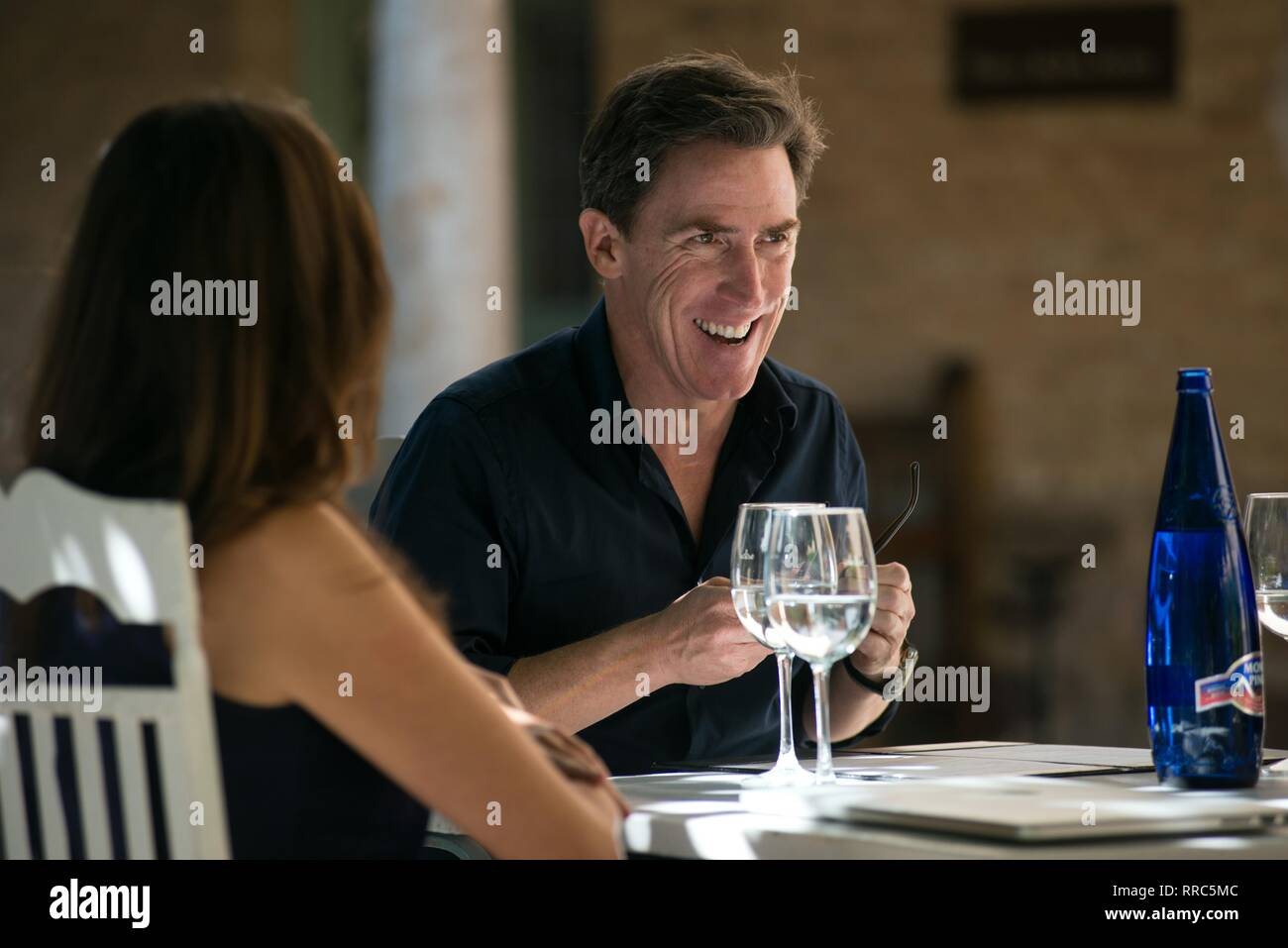 El viaje a España, Rob Brydon, 2017 Imagen De Stock