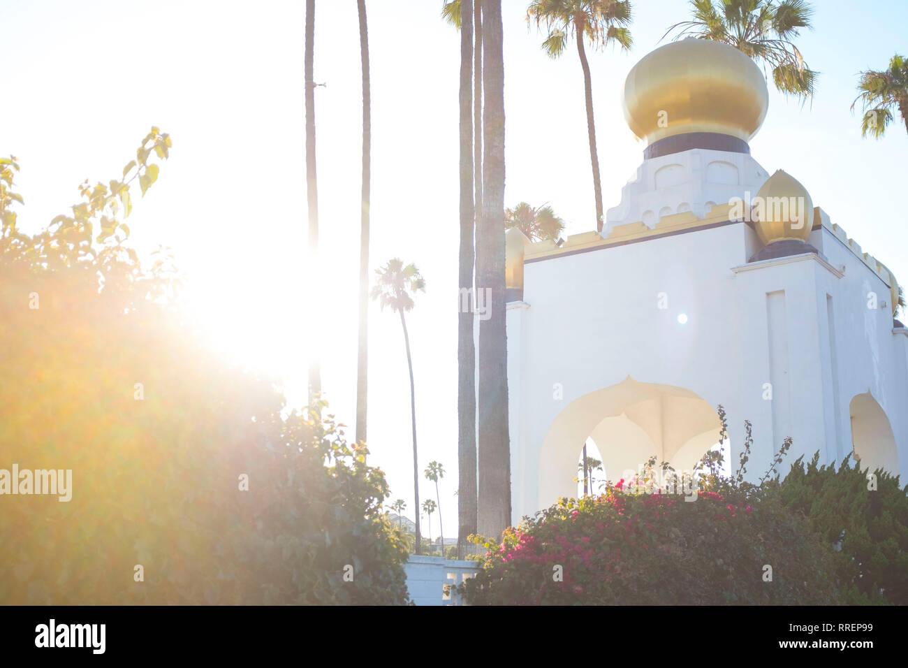 La Autorealizacion edificio becas en Encinitas California Imagen De Stock