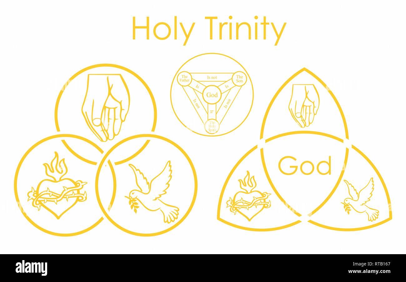 Santísima Trinidad Dibujo Fotos E Imágenes De Stock Alamy