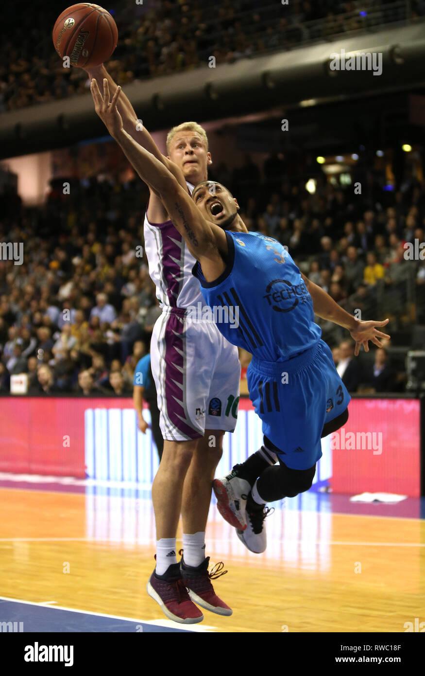 05 de marzo de 2019, Berlín: baloncesto: Eurocup, Alba Berlin ...