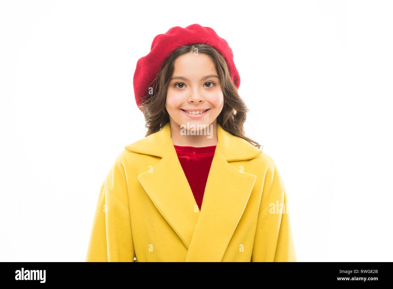 26fb6db119 Fancy girl. Vestirse como chica de moda. Kid cute little girl cara  sonriente posando