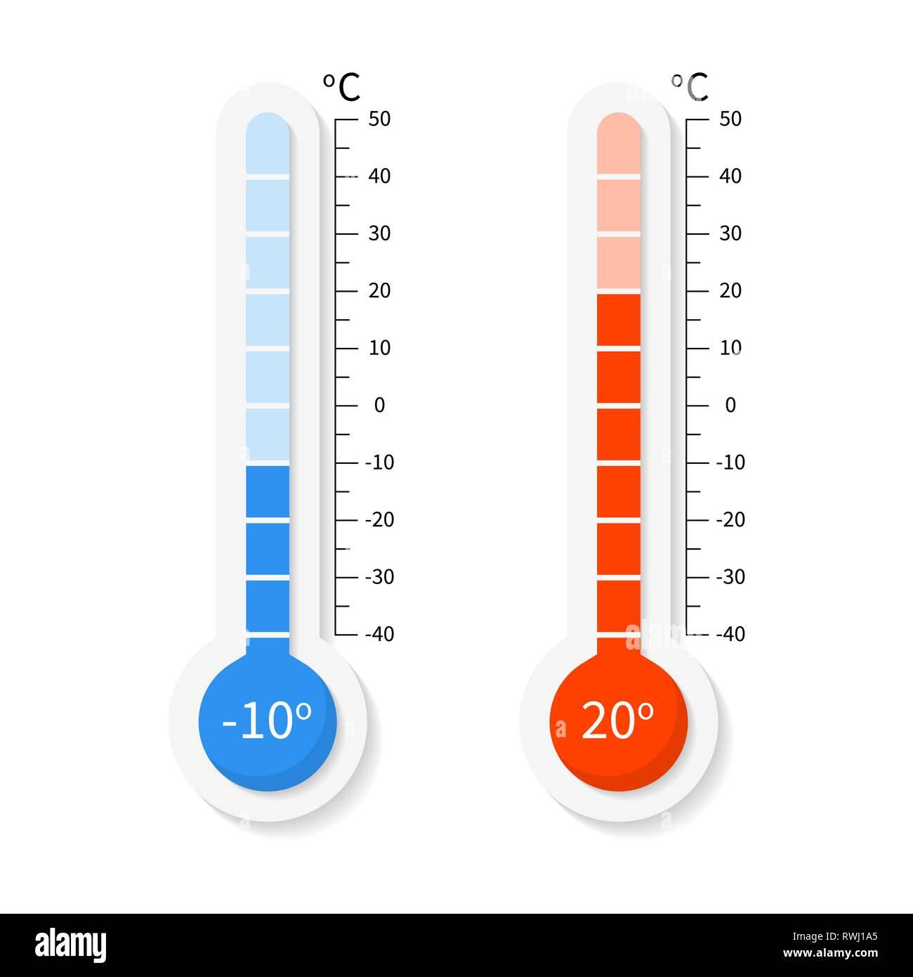 Vector Termometros Meteorologia En Grados Celsius Y Fahrenheit Imagen Vector De Stock Alamy Funcionamiento de termometro con sonda, en café caliente. https www alamy es vector termometros meteorologia en grados celsius y fahrenheit image239497389 html