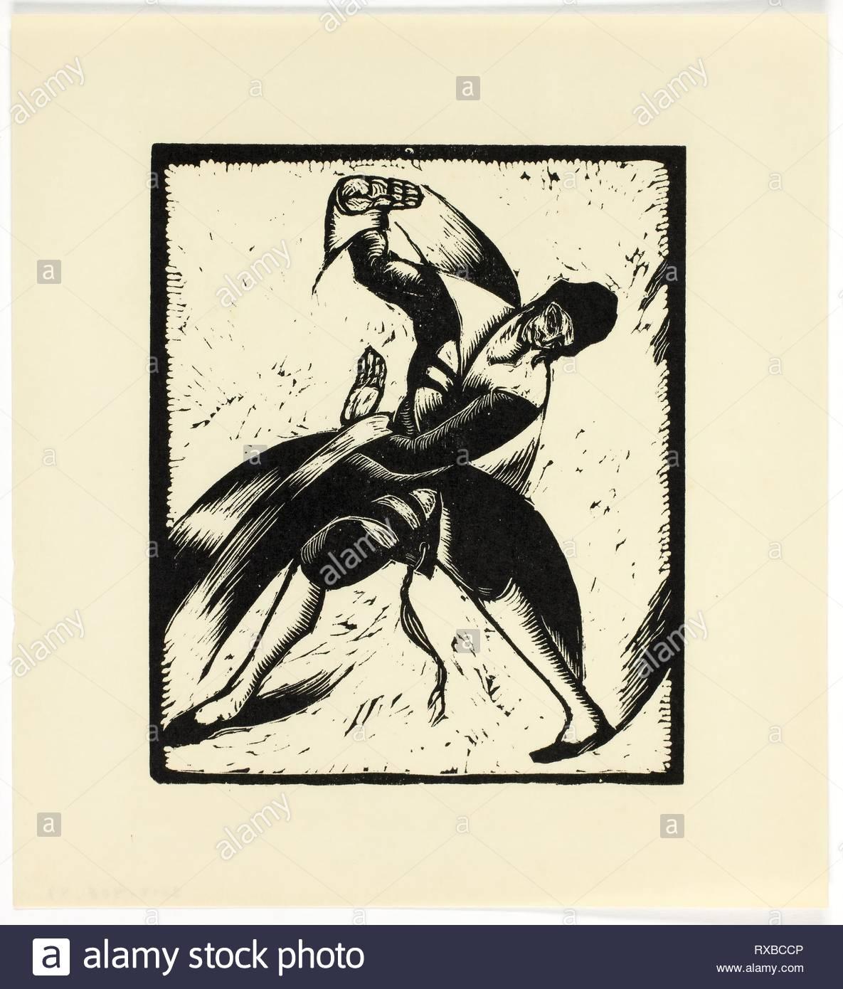 Calendario 1936.Bailarina Judia Impresion 21 De 52 En El Calendario 1936